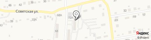 Лана на карте Первомайского