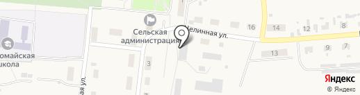 Бийское на карте Первомайского