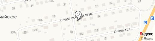 Корзинка на карте Первомайского