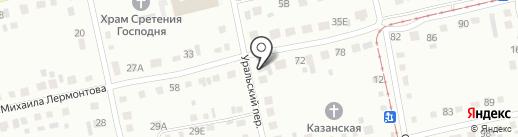 Дорзнак на карте Бийска