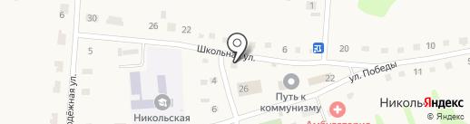 Визит на карте Никольского