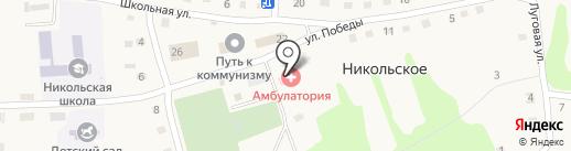 Никольская врачебная амбулатория на карте Никольского