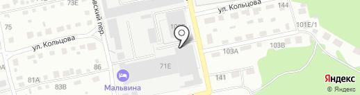 КОНТИНЕНТ-42 на карте Бийска