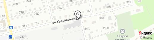 Автоцентр на карте Бийска