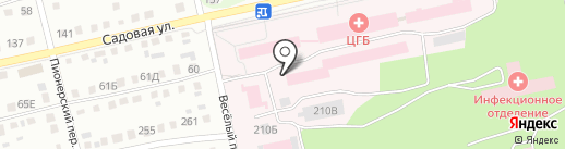 Аптека №395 на карте Бийска