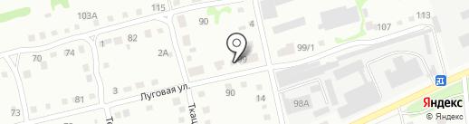 Бийский плодопитомник на карте Бийска