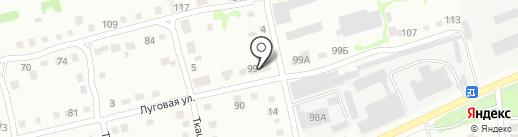 БийскТеплоСтрой на карте Бийска