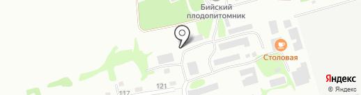 ЧИСТЫЙ ГОРОД на карте Бийска