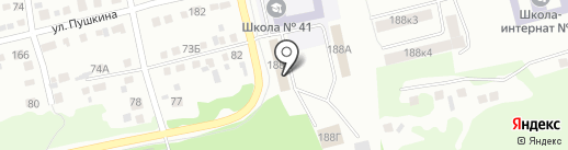 Бийский центр помощи детям, оставшимся без попечения родителей на карте Бийска