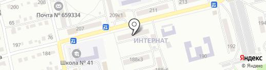 Оптима мебель на карте Бийска
