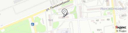 Прометей на карте Бийска
