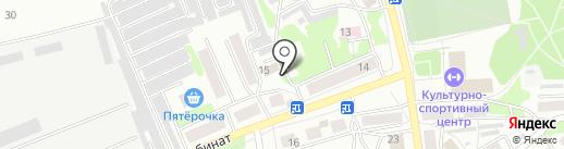 Кармен на карте Бийска