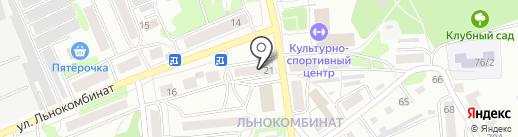 Эконом+ на карте Бийска
