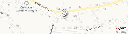 Кедр на карте Шульгинки