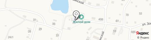 Лицейская дача на карте Алтайского