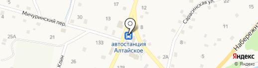 Мария-Ра на карте Алтайского