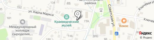 Парикмахерская на карте Алтайского
