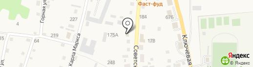 Пивной дом на карте Алтайского