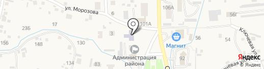 Алтайская детская школа искусств на карте Алтайского