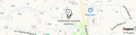 Алтайский центр земельного кадастра и недвижимости на карте Алтайского