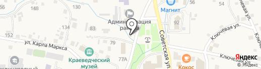 Стройка на карте Алтайского