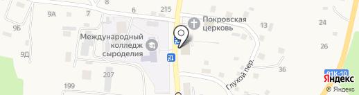 ВОСТОК.ЗАПАД на карте Алтайского