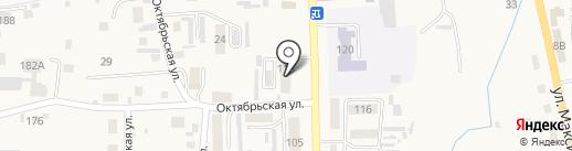Нотариус Ефименко И.Н. на карте Алтайского