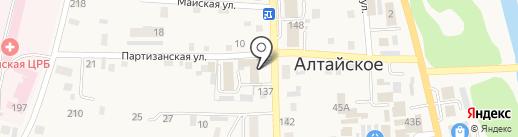 Участковый пункт полиции №1 на карте Алтайского