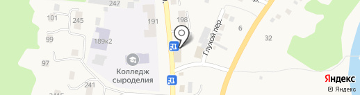 Хелми на карте Алтайского