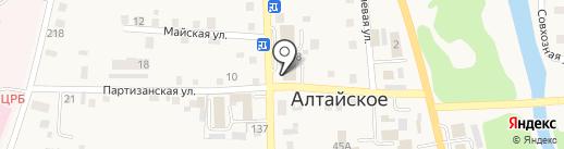 Новый на карте Алтайского