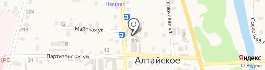 Прокуратура Алтайского района на карте Алтайского