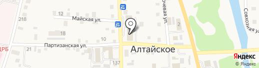 QIWI на карте Алтайского