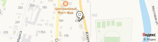 АвтоДеталь на карте Алтайского