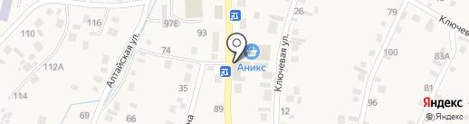 О-о-да! на карте Алтайского