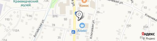 Киоск по продаже семян на карте Алтайского