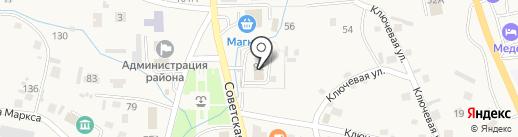 Управление пенсионного фонда РФ в Алтайском районе на карте Алтайского