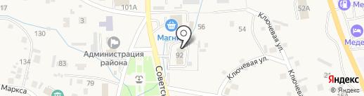 Сибсоцбанк на карте Алтайского