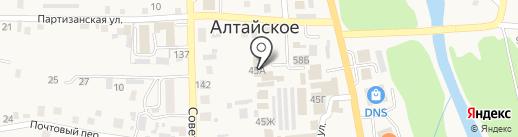 Лакшми на карте Алтайского