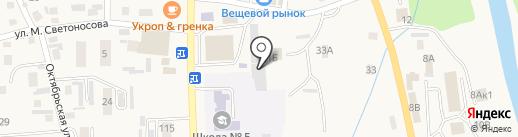 Каток на карте Алтайского