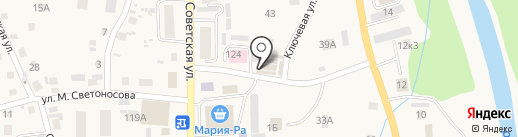 Ярмарка-1 на карте Алтайского