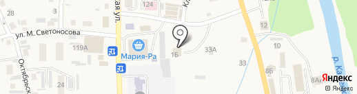 Магазин отделочных материалов на карте Алтайского