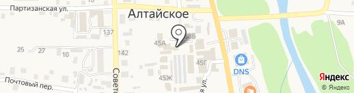 Кувшин на карте Алтайского