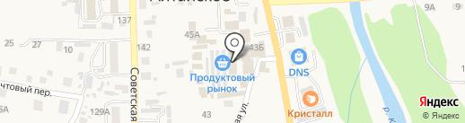 Магазин текстиля и одежды для дома на карте Алтайского