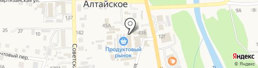 Клеопатра на карте Алтайского