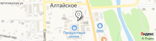 Звездопад на карте Алтайского