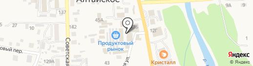 Нить Ариадны на карте Алтайского