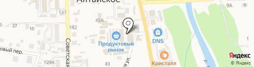 Стриж на карте Алтайского