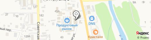 Камелот на карте Алтайского