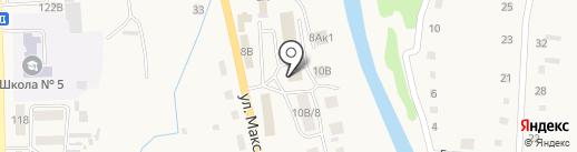 Магазин одноразовой посуды на карте Алтайского