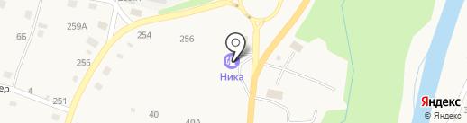 АЗС Ника на карте Алтайского